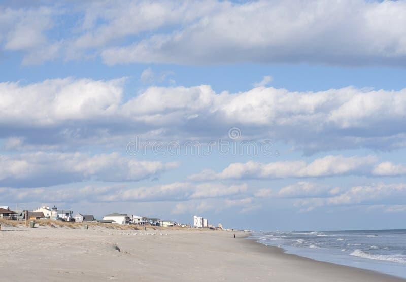 strand norr carolina fotografering för bildbyråer