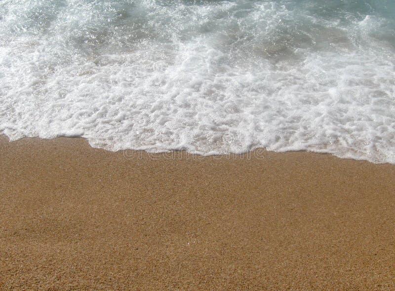 Strand och sand fotografering för bildbyråer
