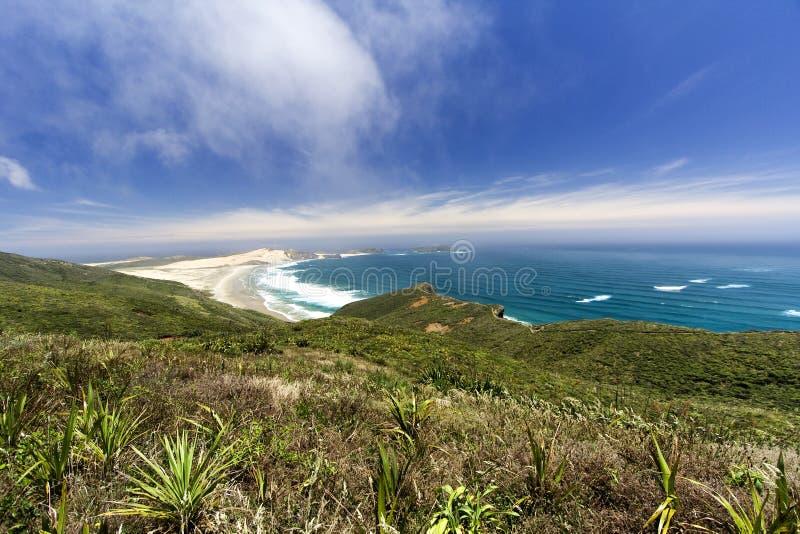 Strand op Kaap Reigna stock afbeeldingen
