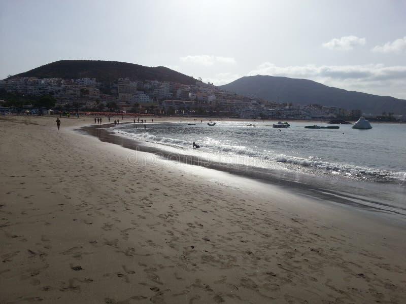 Strand op Tenerife royalty-vrije stock foto's