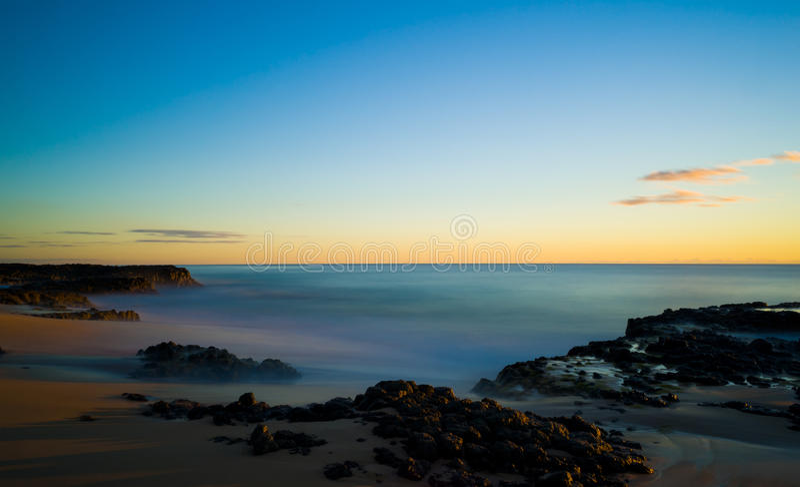 Strand på udde Leeuwin royaltyfria bilder