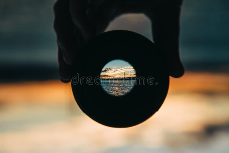 Strand in Portugal royalty-vrije stock fotografie