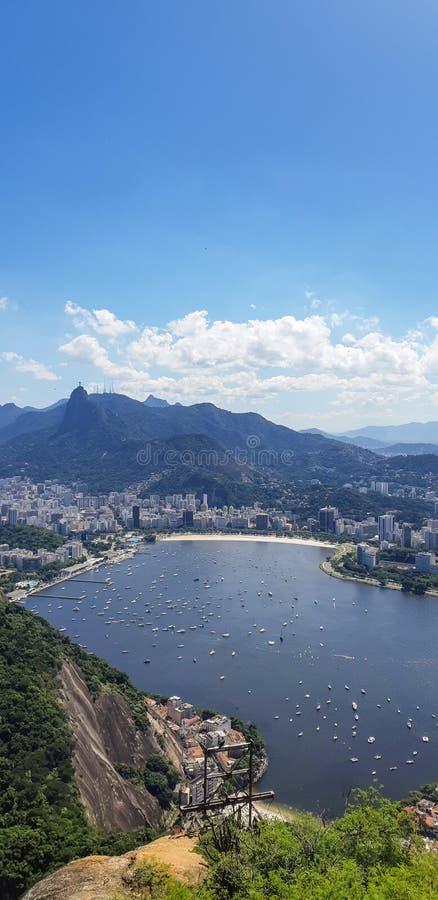 Strand in Rio de Janeiro, Brasilien stockbild