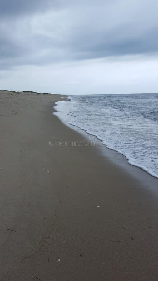 Strand in Rodanthe, NC stockfotos
