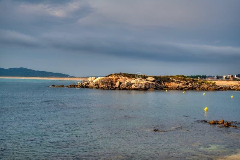 Strand Rotsen stock fotografie