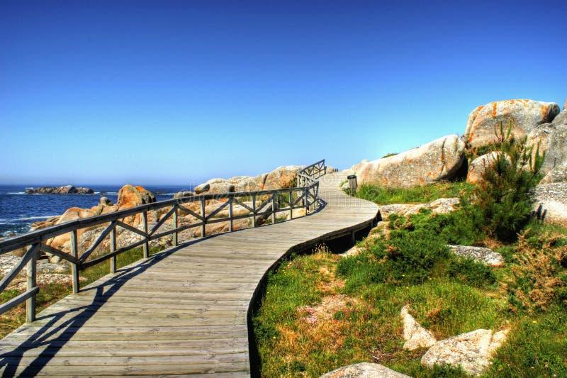 strand San Vicente arkivfoton