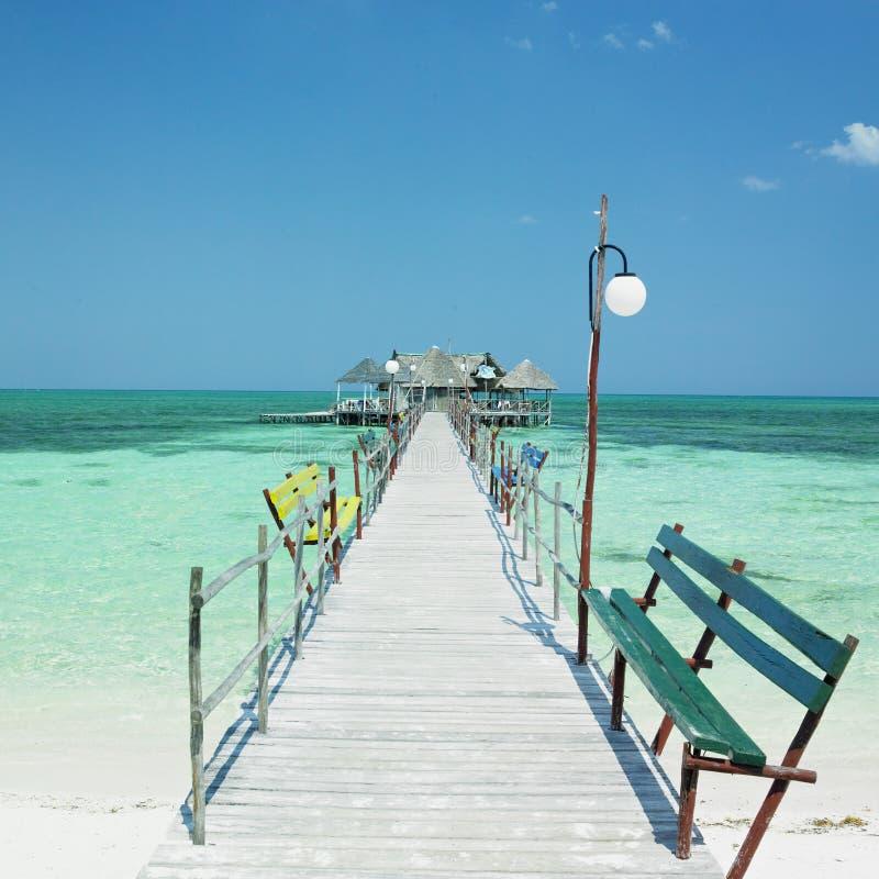 Strand Sankt-Lucia, Kuba stockbild