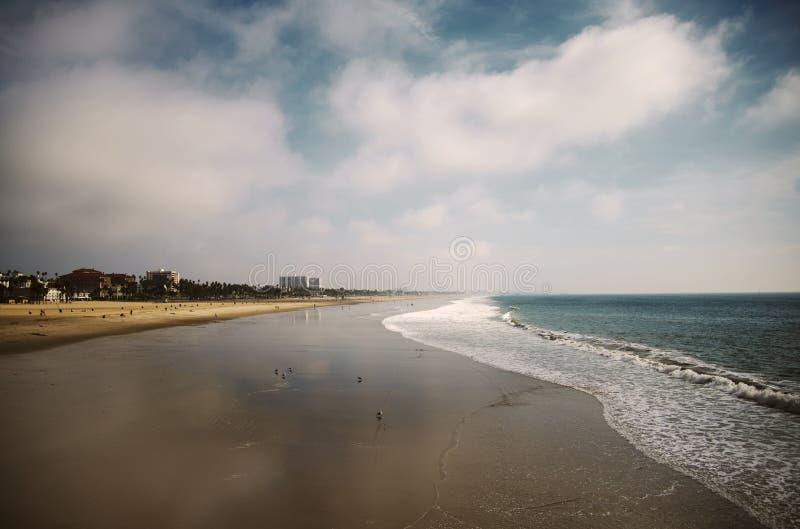 Strand scape stockfotografie
