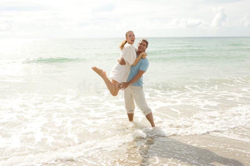 Strand-Spaß lizenzfreie stockfotografie