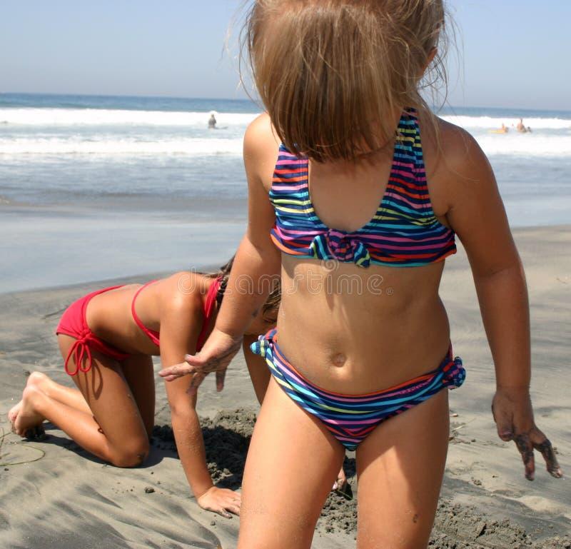 Strand-Spaß Stockfoto