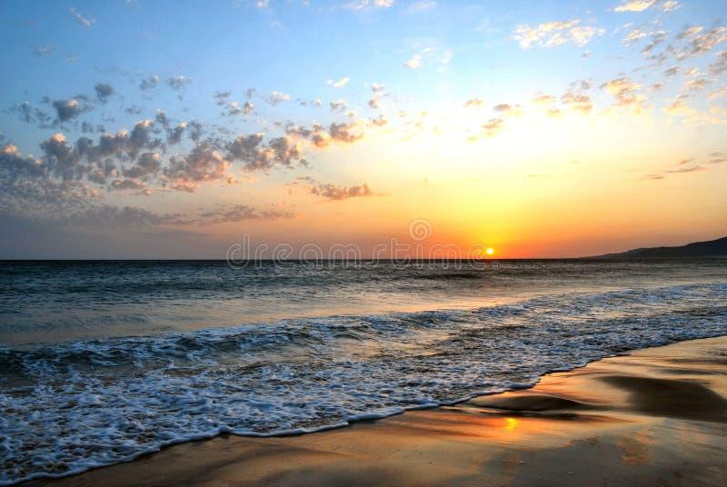 strand spain tarifa arkivfoto