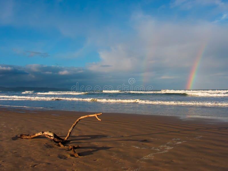 Strand szenisch lizenzfreies stockbild