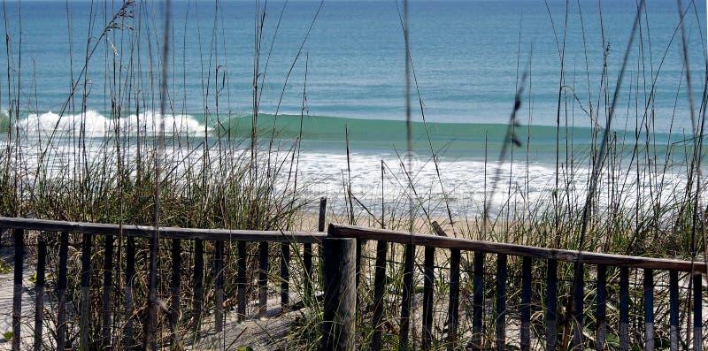 Strand szenisches Florida lizenzfreies stockbild