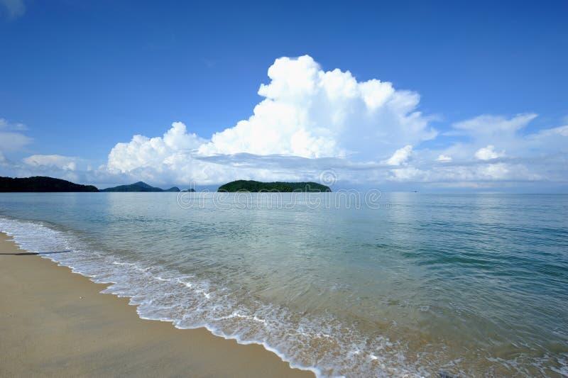 Strand Tanjung Rhu stockfotografie