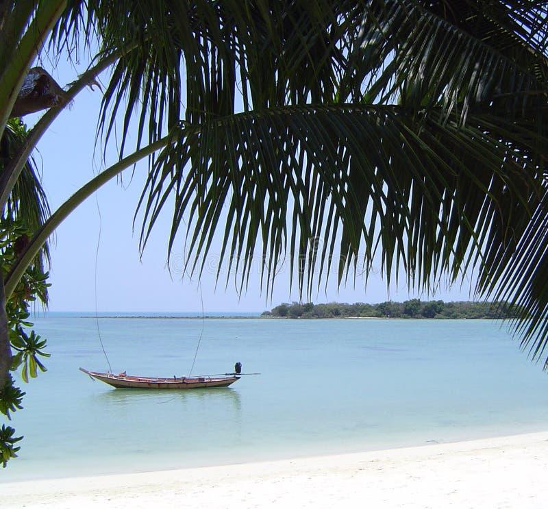 strand thailand arkivbilder