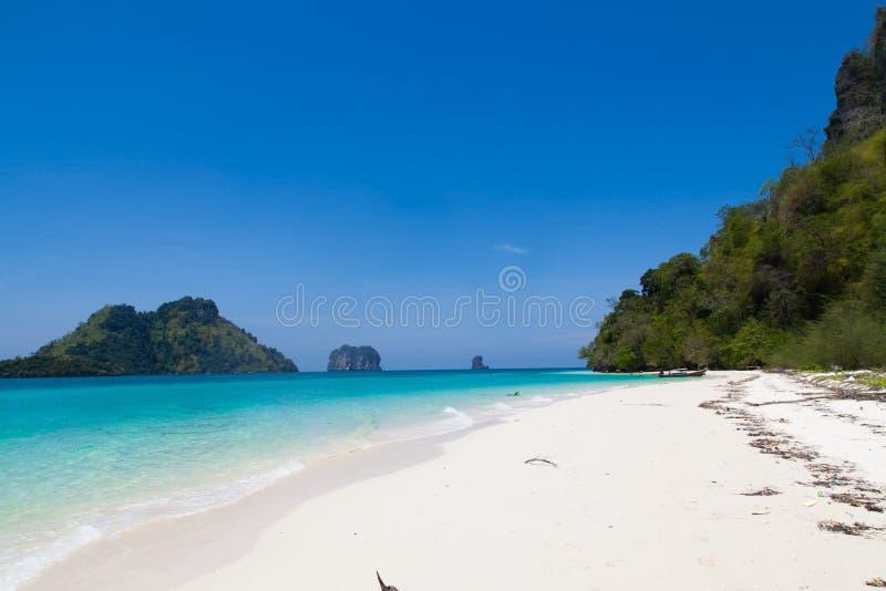 Strand in Thailand stock foto