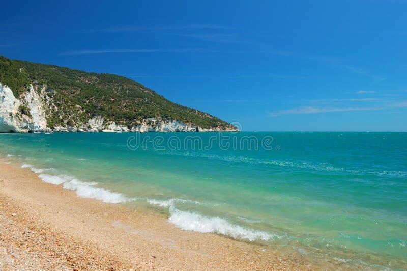 Strand und Küstelandschaft lizenzfreie stockbilder