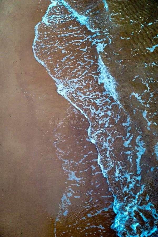 Strand- und Meerwasser Porträt stockbilder