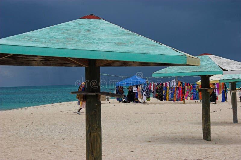 Strand van Antigua royalty-vrije stock afbeeldingen