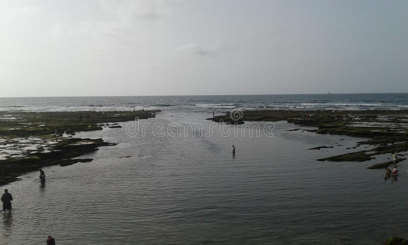 Strand van Casablanca stock foto