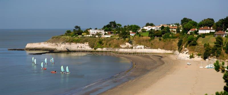 Strand van Heilige Georges DE Didonne royalty-vrije stock afbeelding