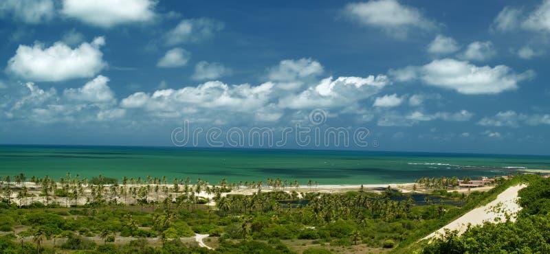 Strand van Pitangui, het geboorte royalty-vrije stock foto's