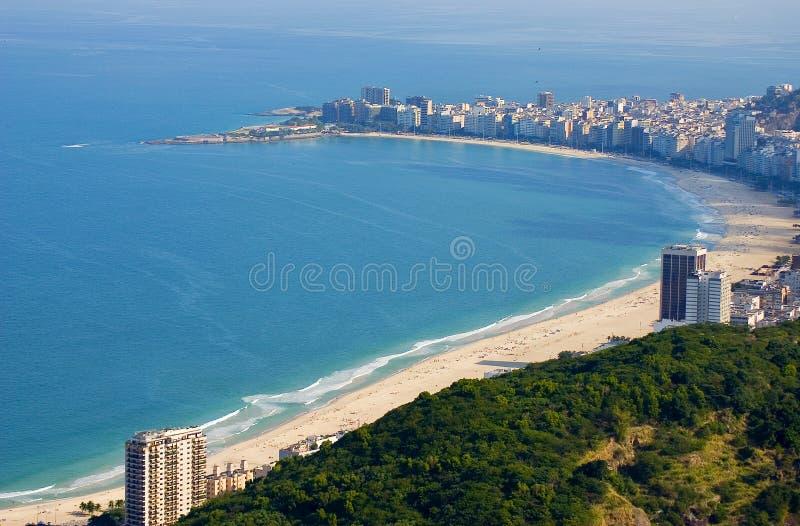 Strand van Rio de Janeiro stock fotografie