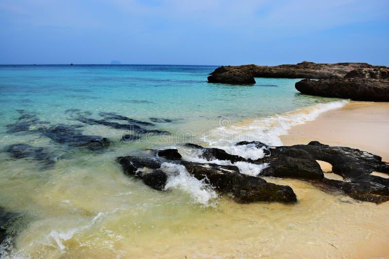 Strand van Thailand, phuket provincie stock afbeelding