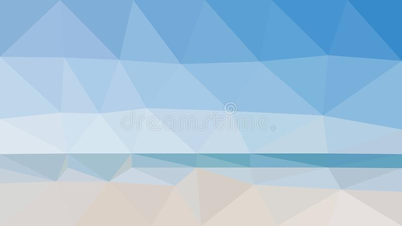 Strand vectorbehang royalty-vrije stock afbeelding