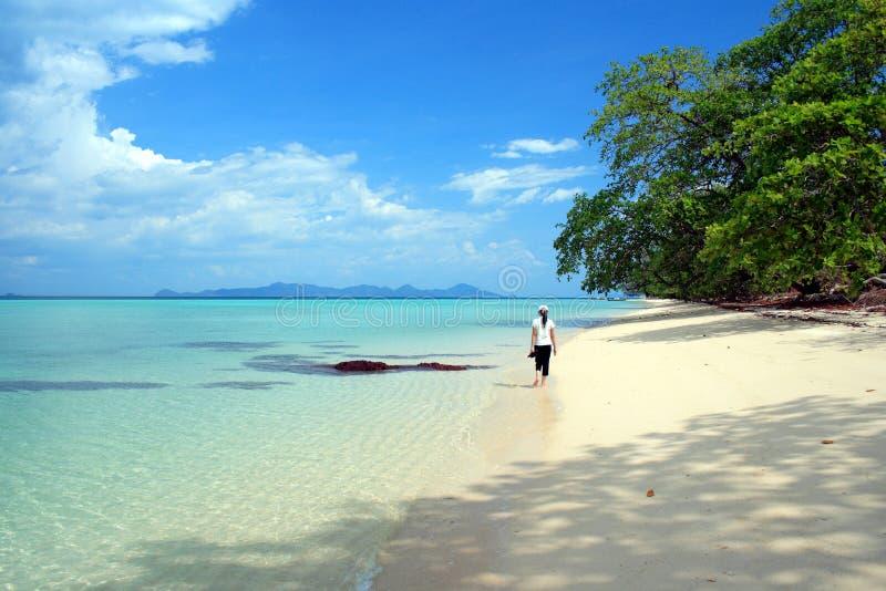 Strand VI van Andaman stock afbeeldingen