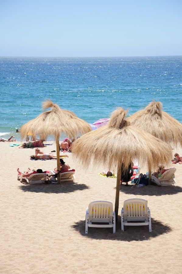 Strand, Vina del Mar royalty-vrije stock foto