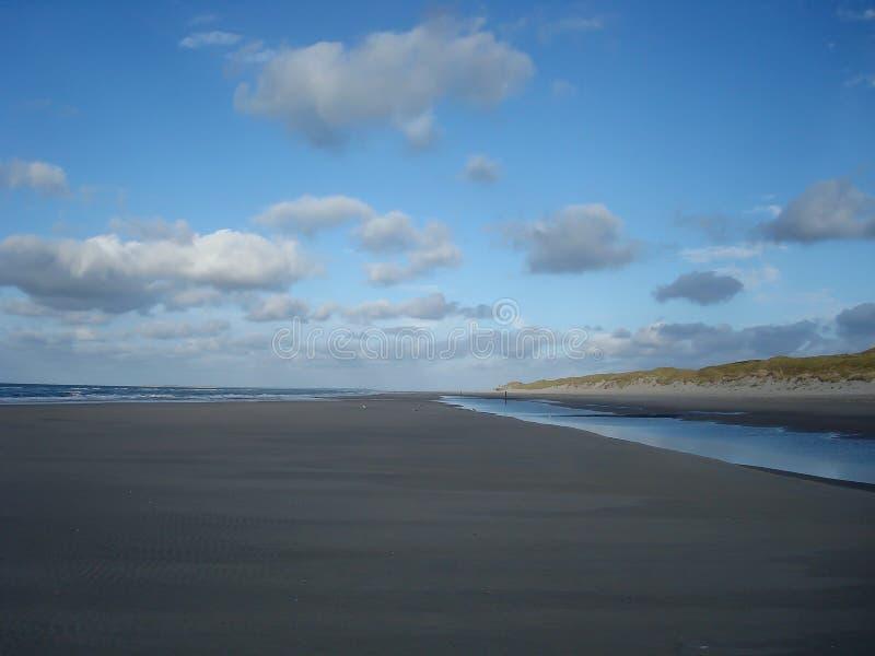 Strand Vlieland stock foto's