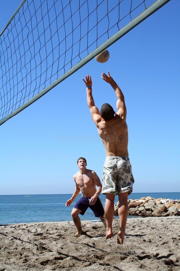 Strand-Volleyball lizenzfreies stockbild