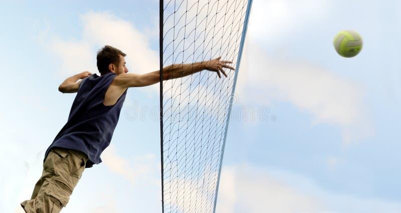 Strand-Volleyball stockfotografie