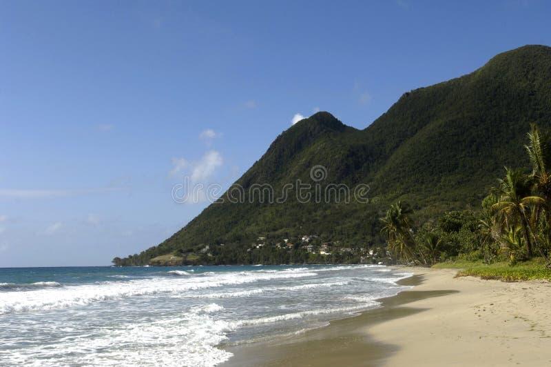 Strand von le Diamant lizenzfreie stockfotografie
