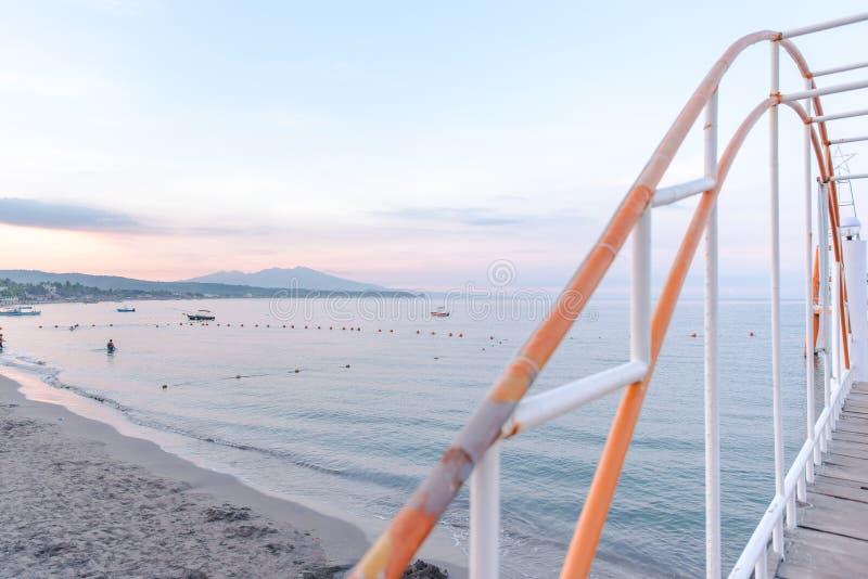 Strand von Morong, Bataan, Philippinen lizenzfreie stockbilder