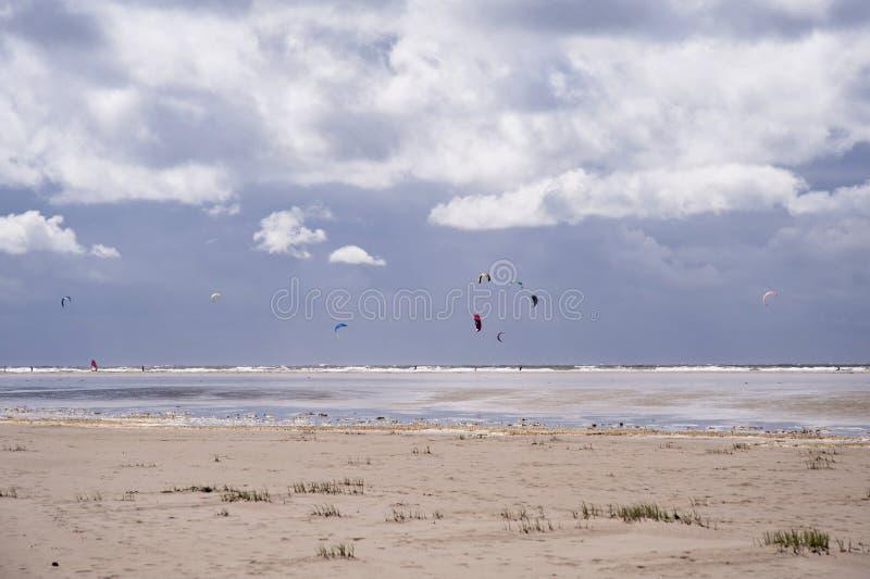 Strand von St. Peter-Ording lizenzfreie stockfotografie
