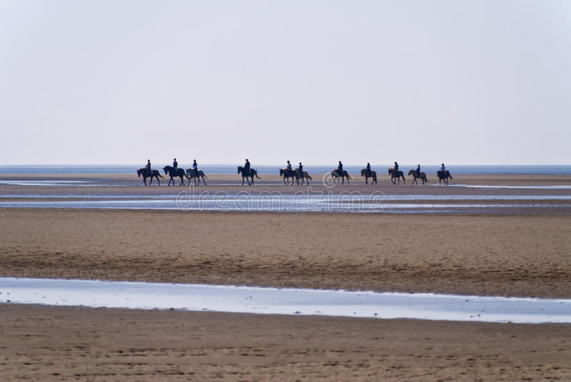 Strand von St. Peter-Ording lizenzfreie stockfotos