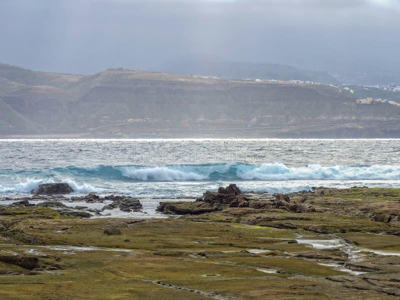 Strand von Steinen lizenzfreie stockfotografie