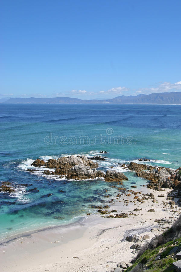 Strand in Walkerbay stockbilder