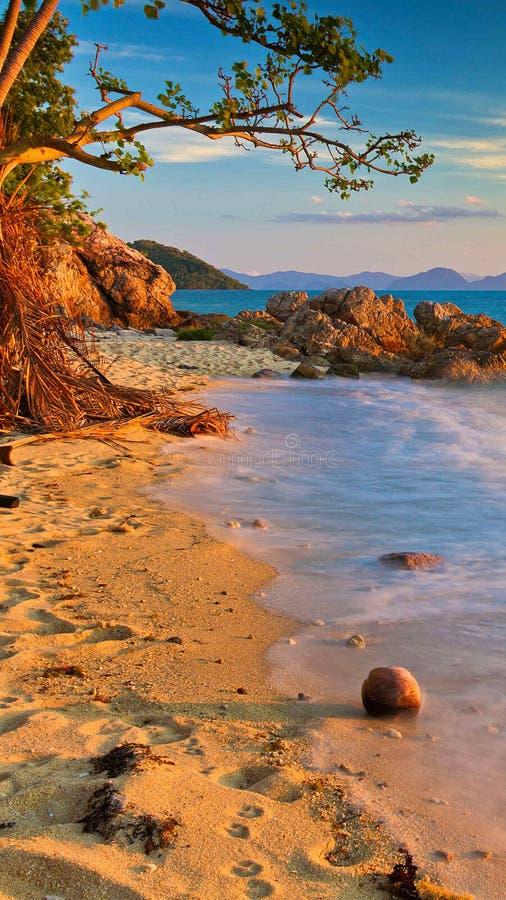 Strand wonderfull Zusammensetzung lizenzfreies stockfoto