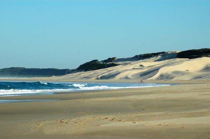 Strand Zuid-Afrika stock fotografie