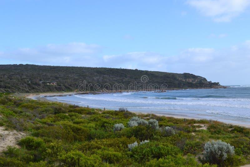 Strand in Zuidwesten WA stock afbeelding