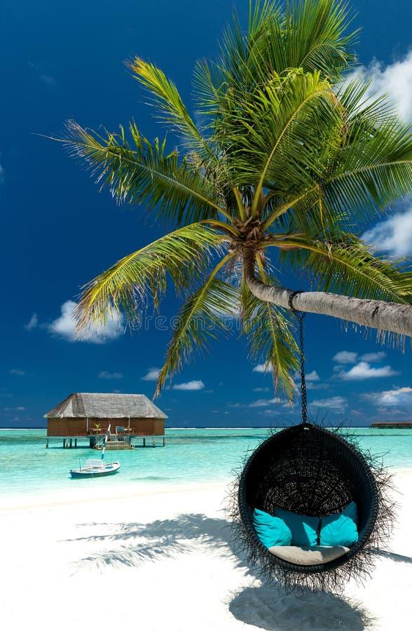 Strandaufenthaltsraum lizenzfreie stockfotografie