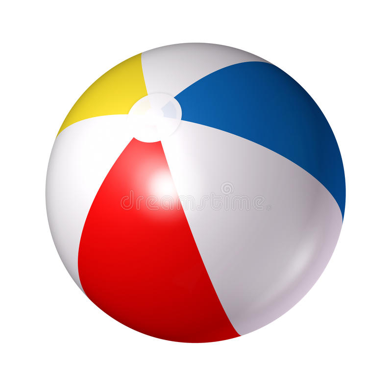 Strandbal vector illustratie