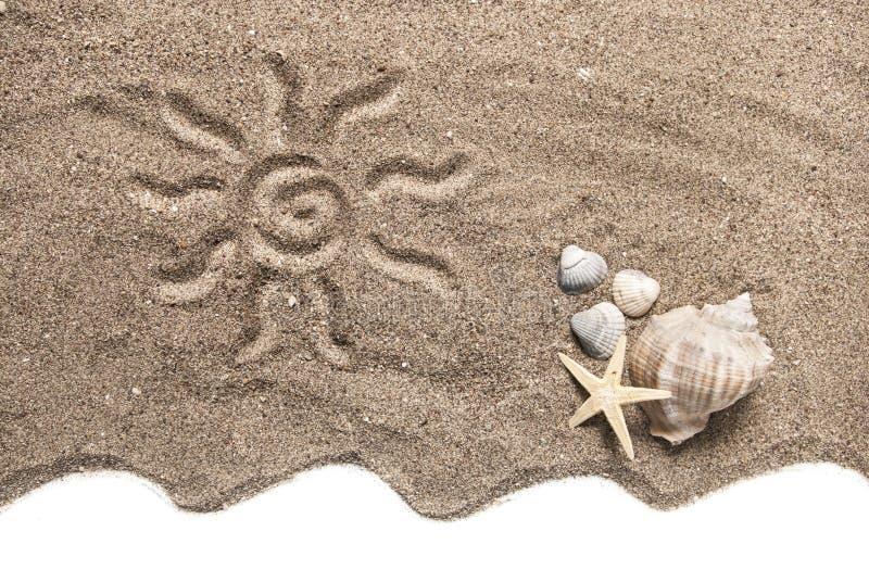 strandbegrepp arkivbild