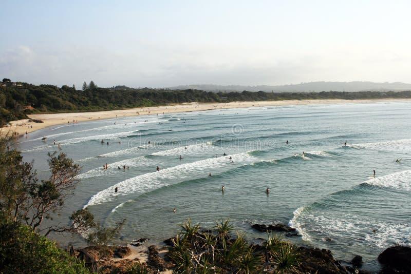 Strandbruch stockbild