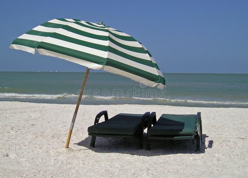 stranddag royaltyfria foton