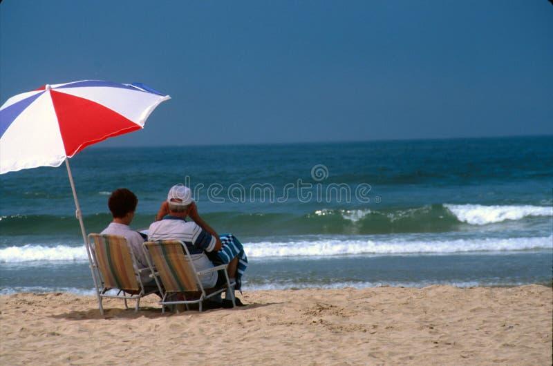 stranddag royaltyfri fotografi