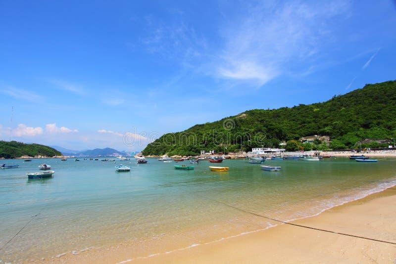 stranddagHong Kong tid royaltyfri fotografi